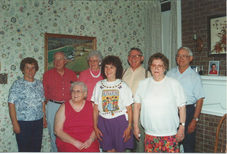 Family Reunion In 1991