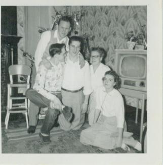 With Davis Family