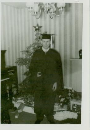 OSU Graduation Day 1954
