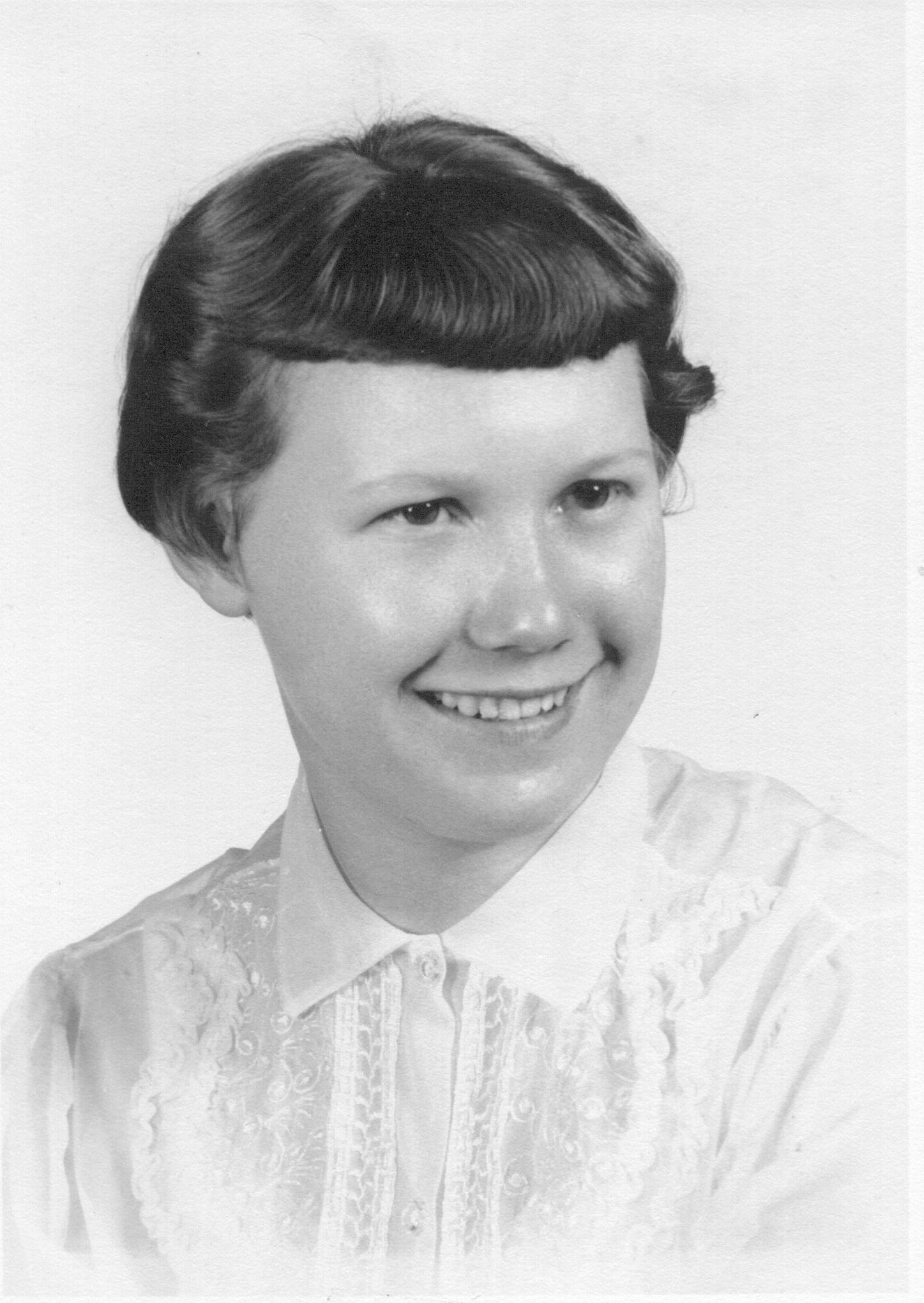 Nancy Lee Thoburn, HS Graduation 1956