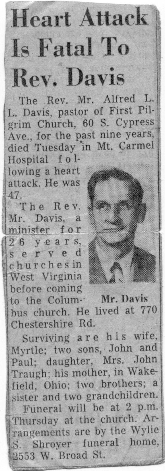 Rev A. L. Davis